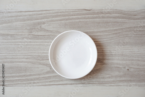 Plate taken from above.  真上から撮影した皿 Canvas Print