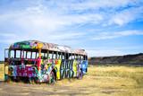 Fototapeta Młodzieżowe - Graffiti bus