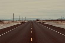 Open Road In West Texas