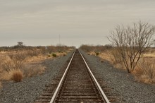 West Texas Train Track