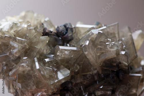 barite mineral specimen stone Canvas Print