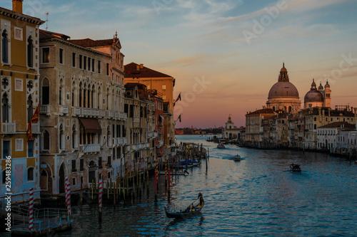 Fototapety, obrazy: Venedig im Abendrot
