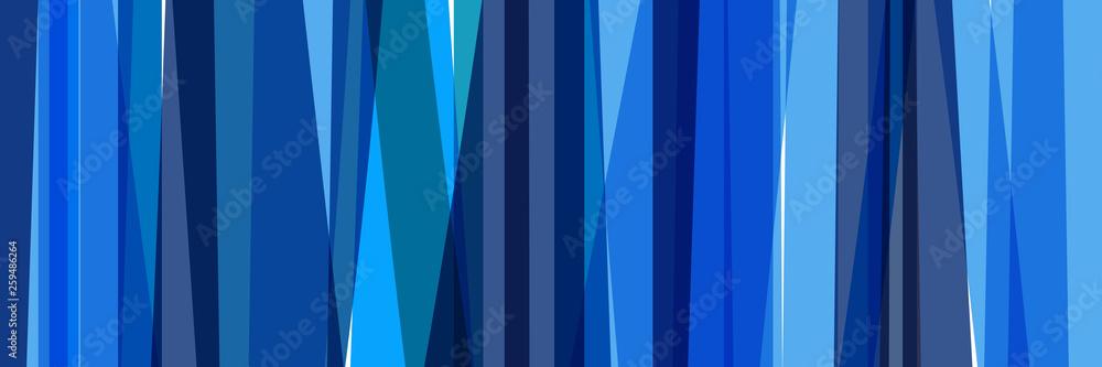 Fototapeta Fond bandes bleues