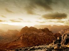 Sunset On Mount Sinai
