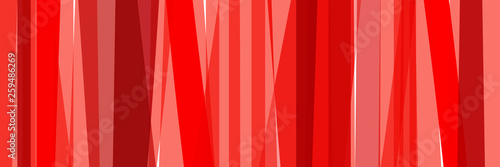 Fotografie, Obraz  Fond bandes rouge corail
