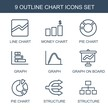 9 chart icons