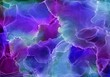 canvas print picture Alcohol ink painting.