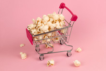 Shopping Cart Full Of Popcorn ...