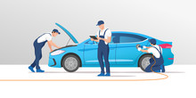 Auto Service And Repair. Car I...
