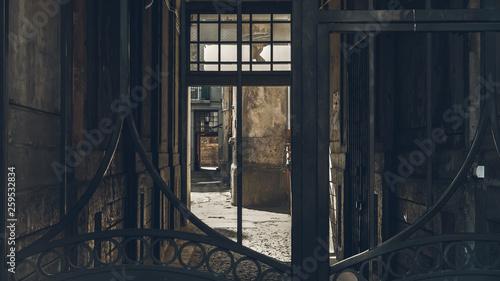 Lodz in Poland Billede på lærred