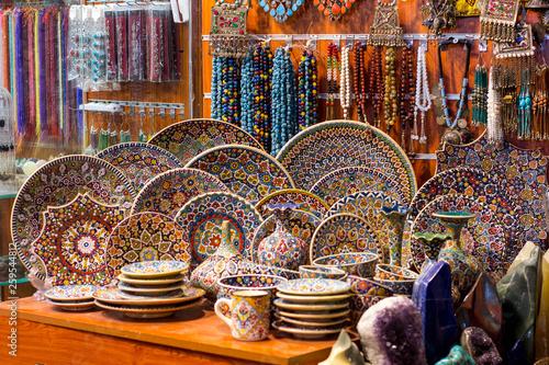 Beautiful goods of authentic arabian market in Dubai - Buy