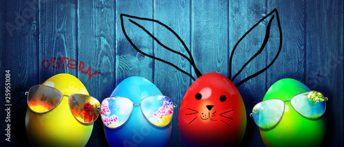Foto auf Leinwand Indien Frohe Ostern!