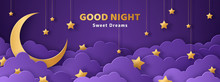 Good Night And Sweet Dreams Banner