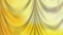 Abstract Gold Satin Curtain Background Texture
