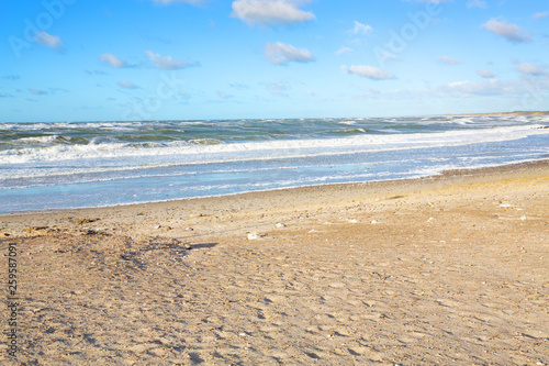 Fotografie, Obraz North Sea coast in northern Jutland, Denmark