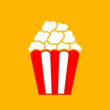 Popcorn Box Vector Icon