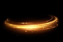 Gold Light Circle