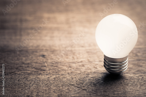 Photo  Small Bulb, Start Idea