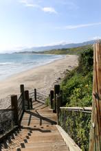 Rincon Beach Park In Carpenteria, California