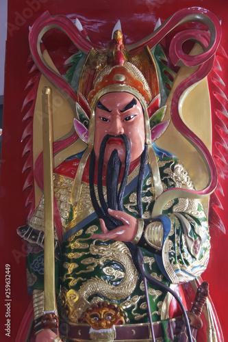 Türaufkleber Phantasie Thean Hou Temple in Langkawi Malaysia