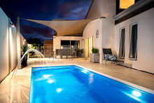 Luxury Home With Pool And Water Feature