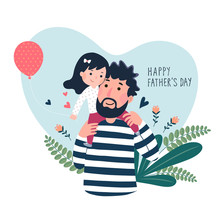 Happy Father's Day Card. Cut...