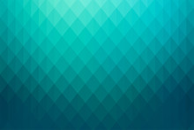 Shiny Vibrant Turquoise Green, Gradient And Geometric Background