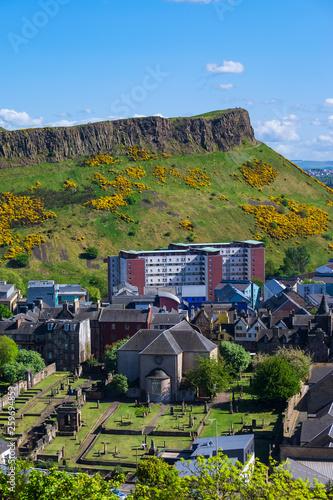 Photo Blick auf Arthur´s Seat in Edinburhg/Schottland