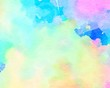 Sweet pastel. gradient background Colorful Paint like graphic. Color glossy. Beautiful painted Surface abstract backdrop. ideas graphic design banner and have copy space for text