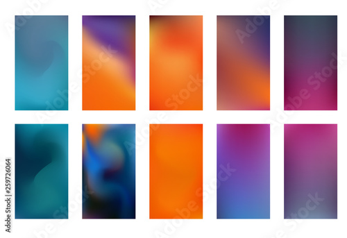 Photo  Colorful backgrounds in trendy neon colors