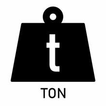 Weight Ton Icon