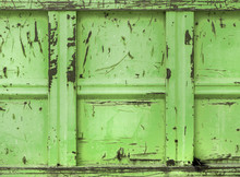 Green Rubble Container