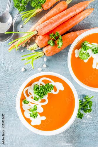 Spring vegetable soup Fototapeta
