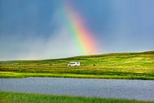 Regenbogen In Skandinavien