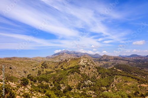 Foto auf Gartenposter Hugel Mallorca Landscapes - mountainous Collection