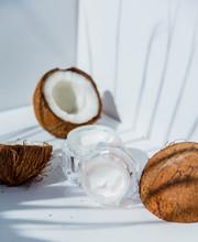 Coconuts And Skin Care Cream O...