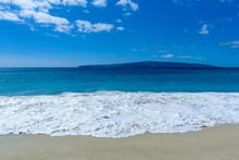 Tropical Beach, Maui, Hawaii, ...
