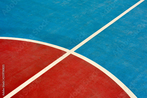Obraz Close up of basketball court - fototapety do salonu