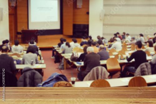 Photo 大学の講堂
