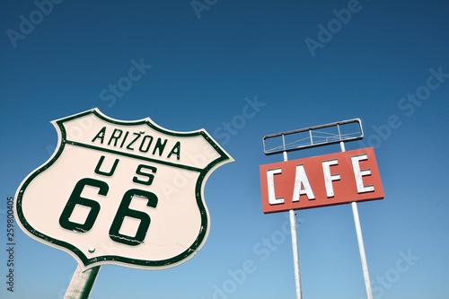 Cafe sign in Arizona.