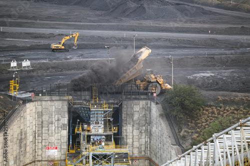 Foto op Plexiglas industria y mineria