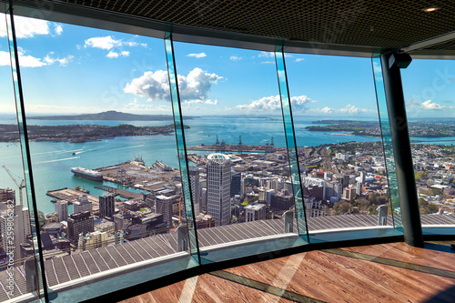 Fotografie, Obraz  Aerial view of Auckland New Zealand