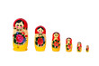 canvas print picture - Matryoshka doll set