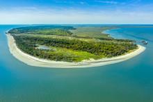 Aerial View Jekyll Island