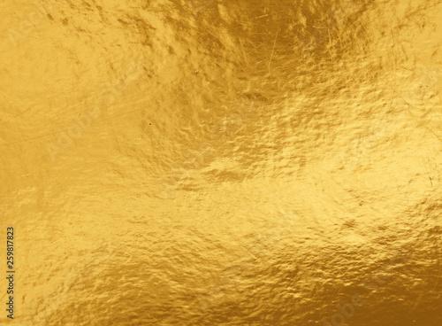 Obrazy kolor złota  gold-foil-background