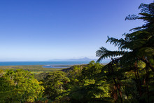 View Over Daintree National Park During Sunset, Cape Tribulation, Australia