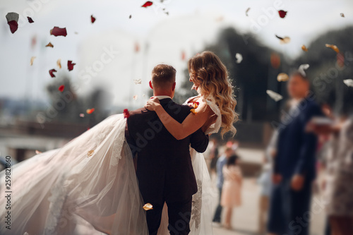 Fotografie, Obraz  young couple in love