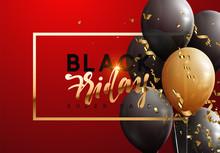 Black Friday, Sale Banner Back...