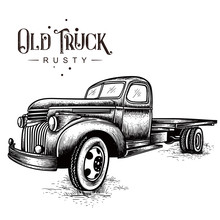 Old Truck Rusty