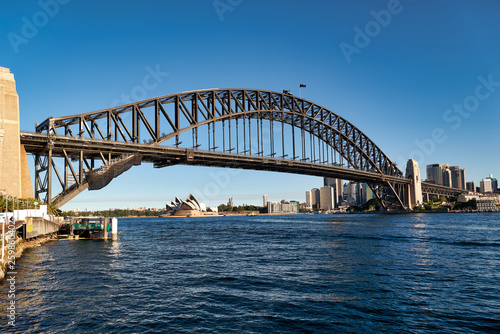 Sydney Harbour Bridge Australia Tablou Canvas